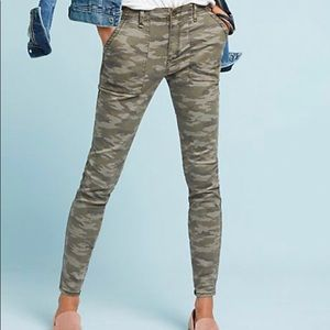 Anthropologie Camo pants